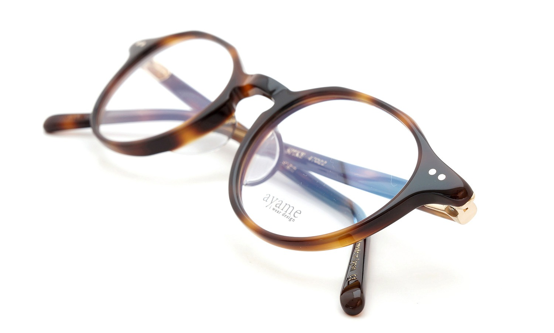 ayame (アヤメ)  メガネ SPIKE スパイク 濃いべっ甲柄 12