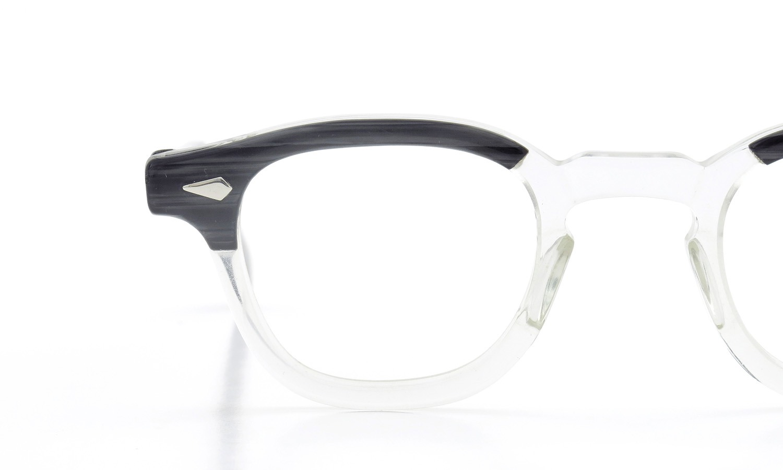 TART Optical vintage タートオプティカル ヴィンテージ メガネ ARNEL アーネル BLACKWOOD CB-CLEAR 42-24 [no.3] 12