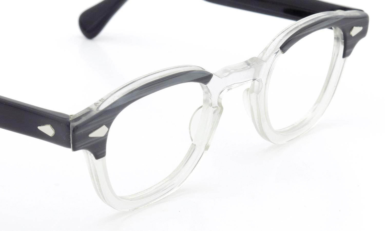 TART Optical vintage タートオプティカル ヴィンテージ メガネ ARNEL アーネル BLACKWOOD CB-CLEAR 42-24 [no.3] 6