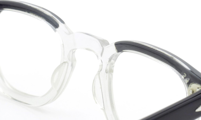 TART Optical vintage タートオプティカル ヴィンテージ メガネ ARNEL アーネル BLACKWOOD CB-CLEAR 42-24 [no.3] 8