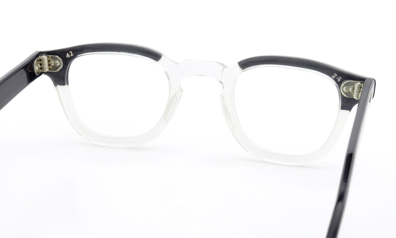TART Optical vintage タートオプティカル ヴィンテージ メガネ ARNEL アーネル BLACKWOOD CB-CLEAR 42-24 [no.3] 7