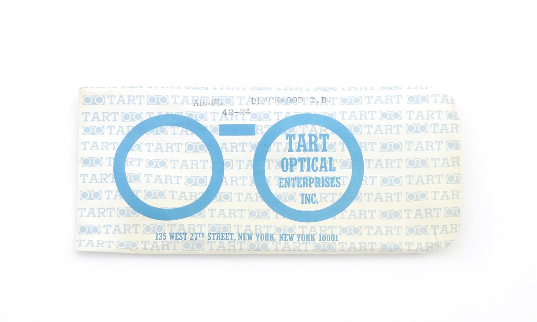 TART Optical vintage タートオプティカル ヴィンテージ メガネ ARNEL アーネル BLACKWOOD CB-CLEAR 42-24 [no.3] 13
