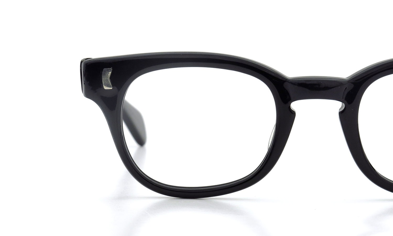LIBERTY Optical 1950's vintage メガネ 9-PAR BLACK 44-20 15