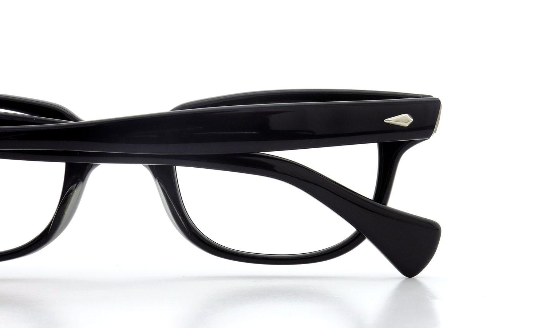 American Optical アメリカンオプティカル (AO)Vintage ヴィンテージメガネ F523 MAIN EVENT 変形ダイヤ鋲 BLACK 44-22 13