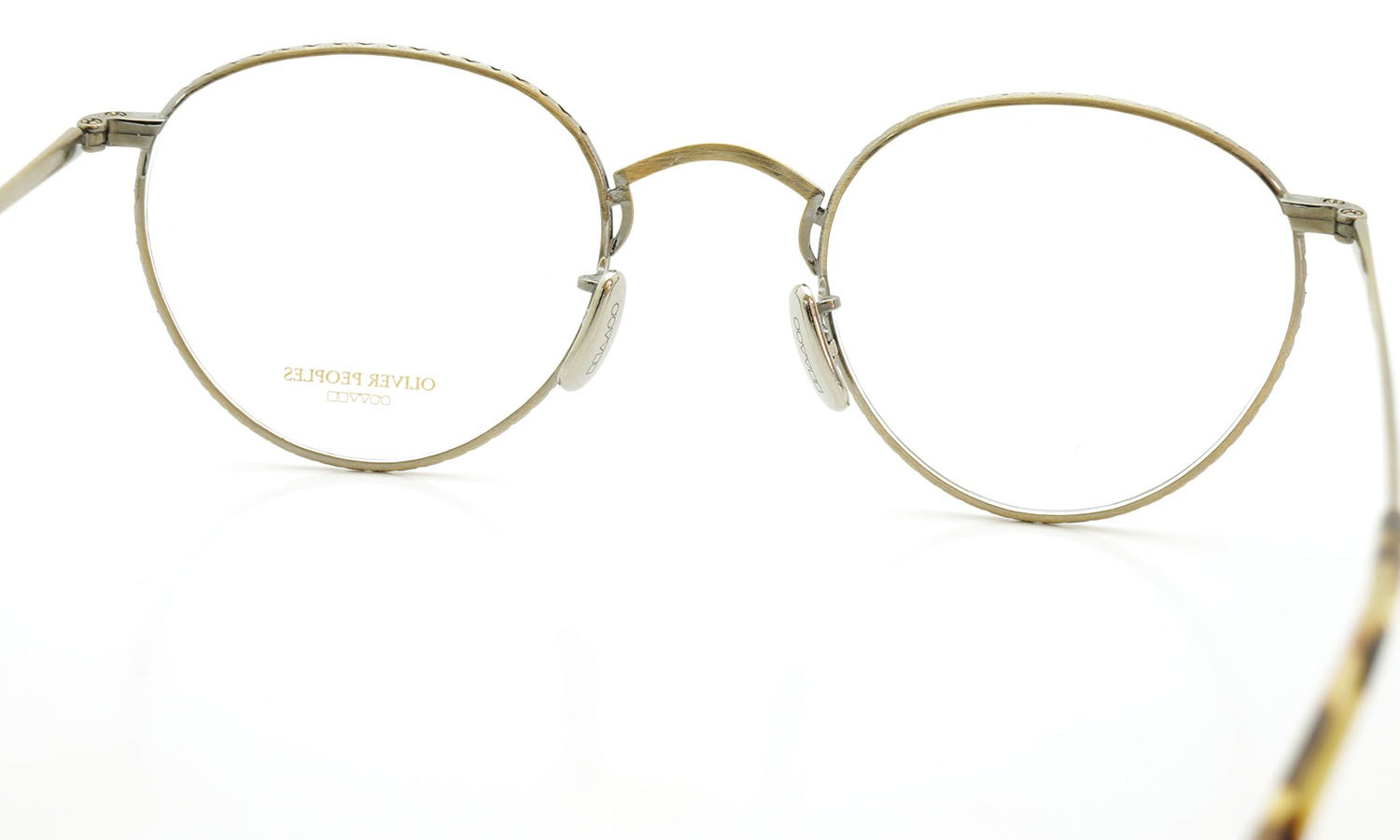 OLIVER PEOPLES (オリバーピープルズ) 2014年-2015秋冬 最新作メガネ OP-47T AG 9
