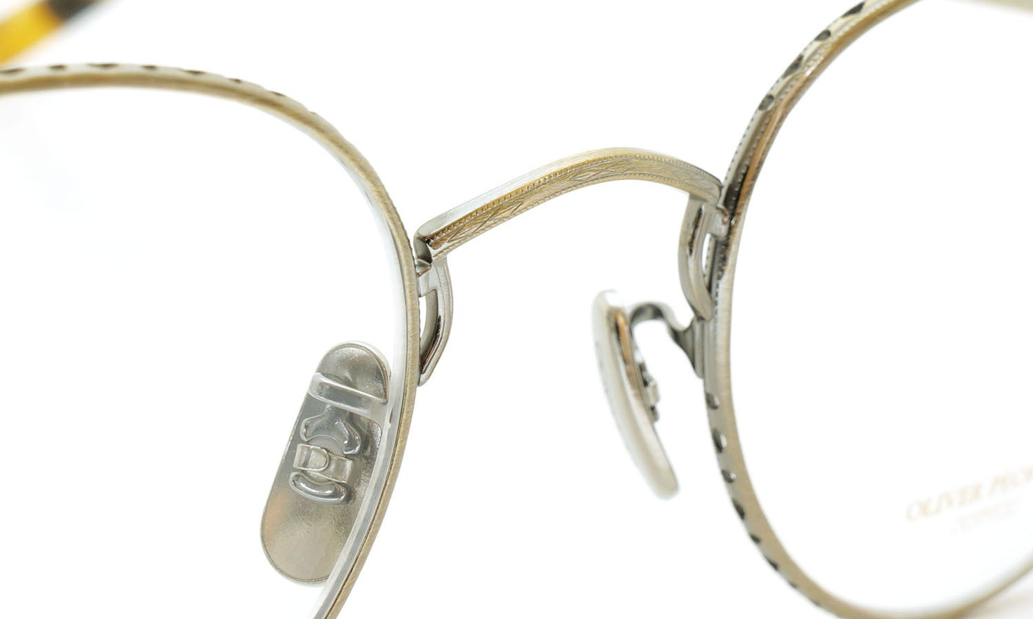 OLIVER PEOPLES (オリバーピープルズ) 2014年-2015秋冬 最新作メガネ OP-47T AG 8