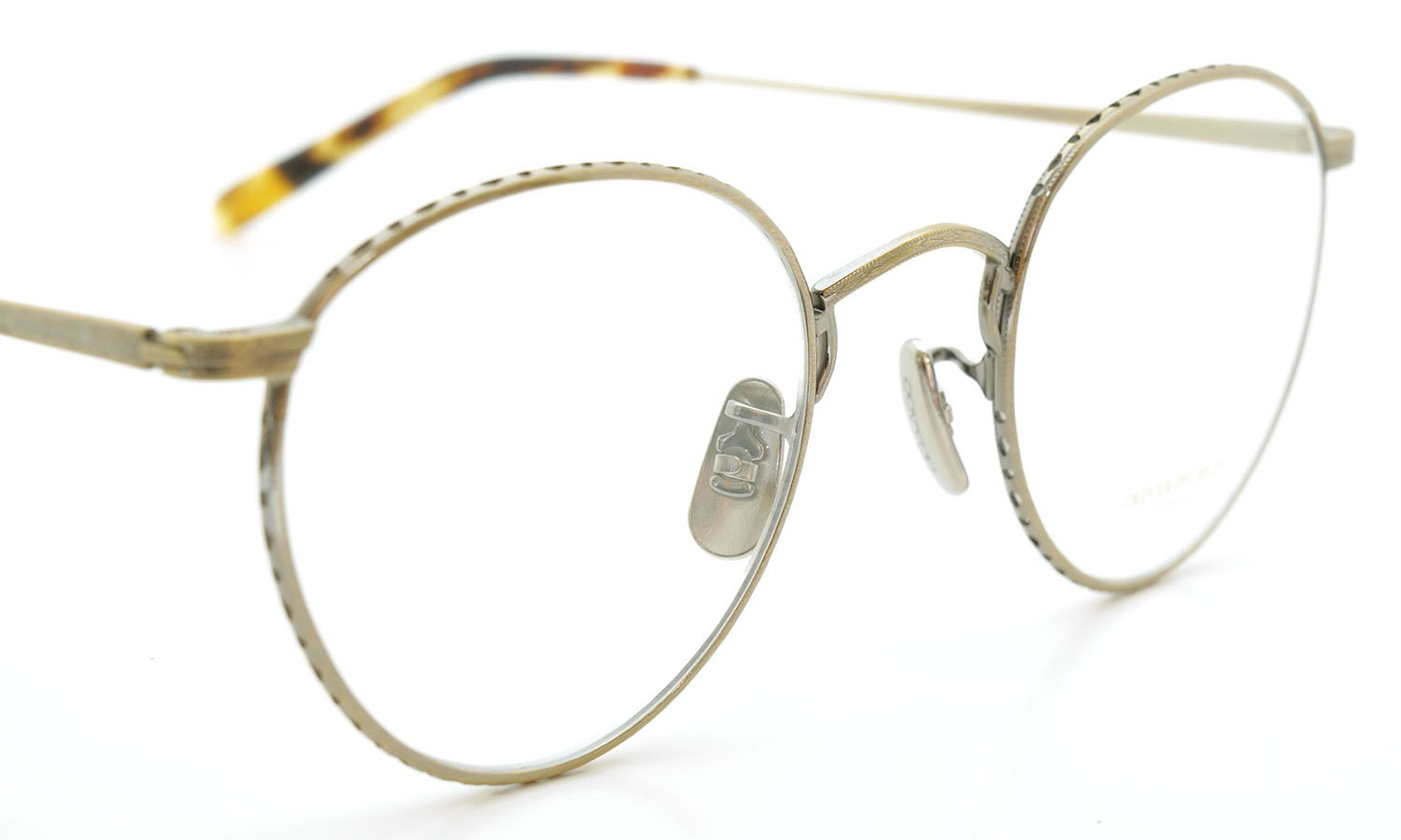 OLIVER PEOPLES (オリバーピープルズ) 2014年-2015秋冬 最新作メガネ OP-47T AG 6