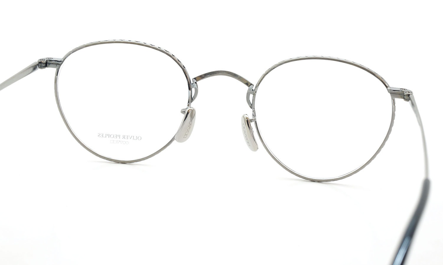 OLIVER PEOPLES (オリバーピープルズ) 2014年-2015秋冬 最新作メガネ OP-47T P ピューター 6