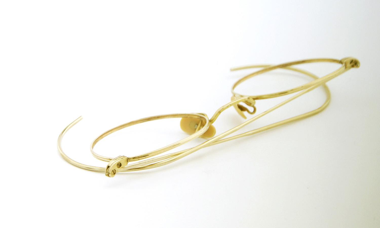 American Optical アメリカン オプティカル vintage ヴィンテージ メガネ 1930年代 P3 FUL-VUE MARSHWOOD 1/10 12kGF GOLD 11