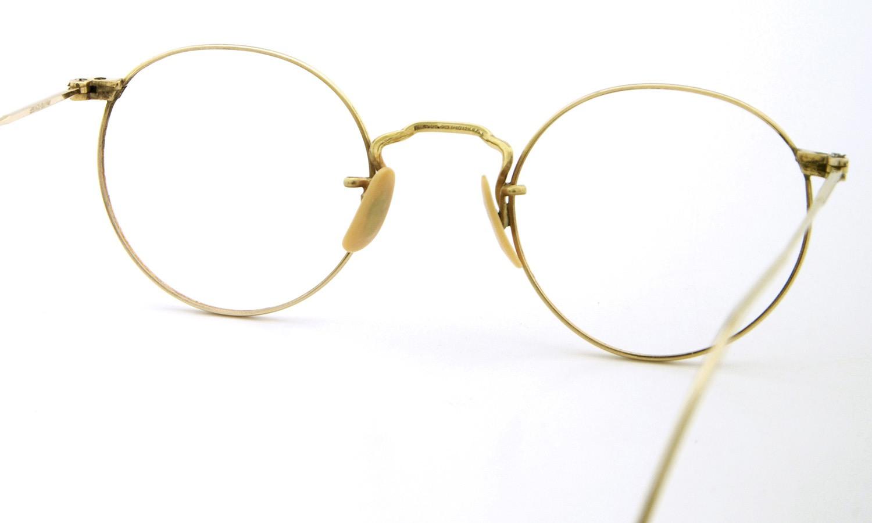 American Optical アメリカン オプティカル vintage ヴィンテージ メガネ 1930年代 P3 FUL-VUE MARSHWOOD 1/10 12kGF GOLD 7