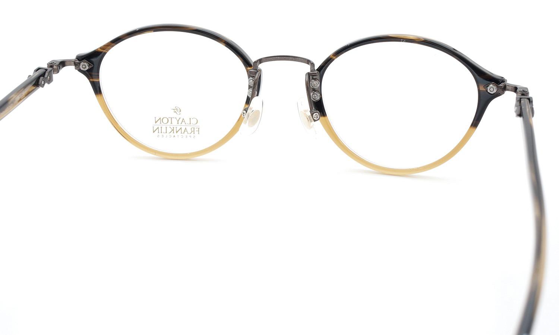 CLAYTON FRANKLIN (クレイトンフランクリン) メガネ 595 HB 7