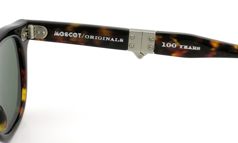 MOSCOT ORIGINALS 100YEARS (モスコット 100周年記念モデル) 限定サングラス LEMTOSH-FOLD レムトッシュ-フォールド COL.TORTOISE-SE 46size 9