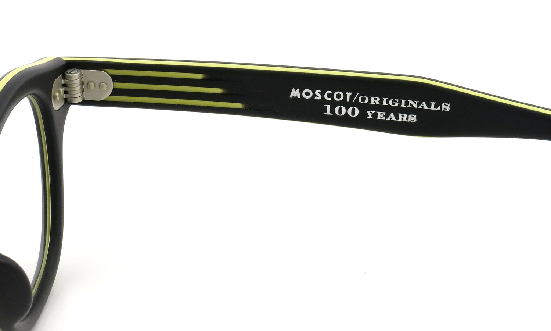 MOSCOT ORIGINALS 100YEARS モスコット 100周年記念 限定モデル コラボレーションメガネ LEMTOSH-smart レムトッシュスマート COL.M-BLACK/YELLOW 44size 10