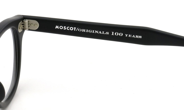 MOSCOT ORIGINALS 100YEARS モスコット 100周年記念 限定モデル メガネ LEMTOSH-WOOD レムトッシュウッド COL.MATTE BLACK 46size 10