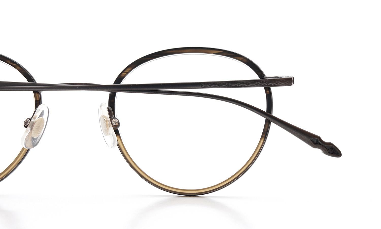 CLAYTON FRANKLIN (クレイトンフランクリン) 2015年春夏 新色 メガネ 606 MBR/MHB 15