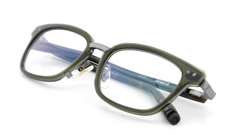 JAPONISM (ジャポニスム) sense collection(センスコレクション) メガネ JS-109 COL.04 Khaki 12