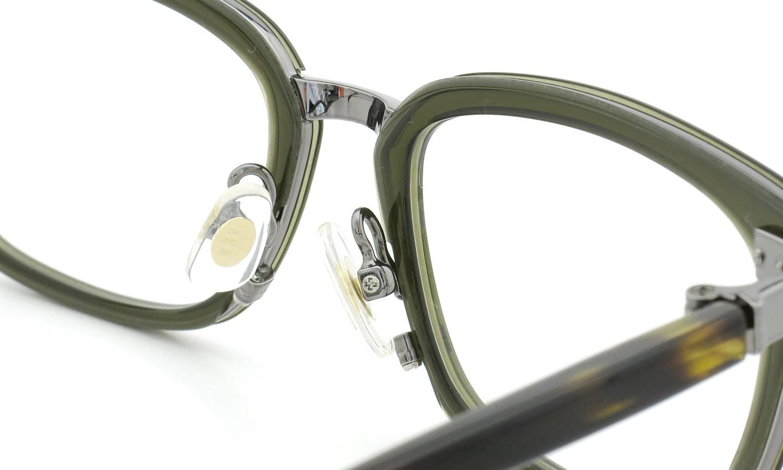 JAPONISM (ジャポニスム) sense collection(センスコレクション) メガネ JS-109 COL.04 Khaki 8