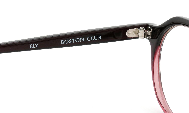 BOSTON CLUB (ボストンクラブ) メガネ 限定生産  ×BE@RBRICK (ベアブリック) コラボレーションボックスセット ELY col.03 Wine Half 10
