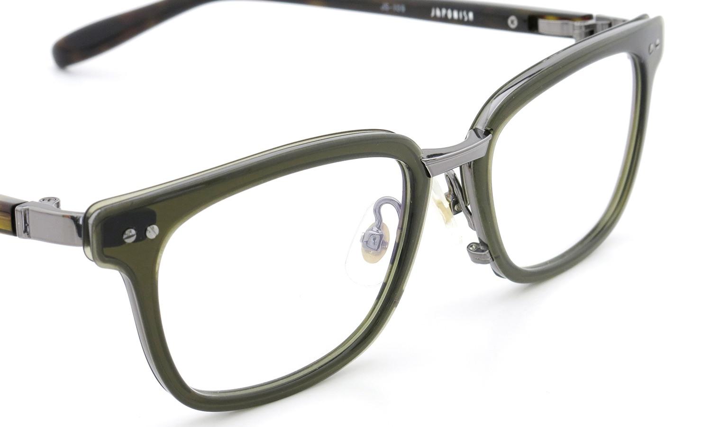 JAPONISM (ジャポニスム) sense collection(センスコレクション) メガネ JS-109 COL.04 Khaki 6