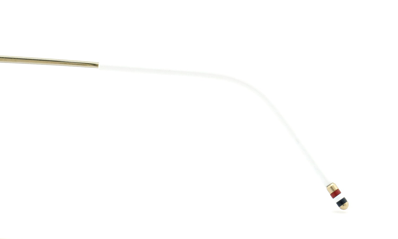 THOM BROWNE.  NEWYORK (トムブラウンニューヨーク) 2015 S/S 最新作 メガネ+クリップオンセット TB-710-B 46size GLD-GRY 23