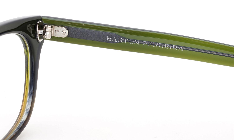 BARTON PERREIRA (バートンペレイラ) ボストンスタイル メガネ LORYN ローリン STG 47size 9