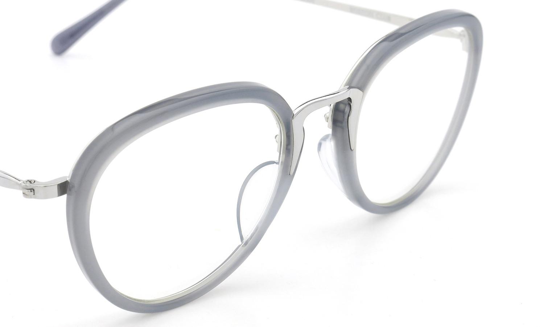 BOSTON CLUB (ボストンクラブ) メガネ 限定生産  ×BE@RBRICK (ベアブリック) コラボレーションボックスセット ALAN col.03 Silver/Grey 7