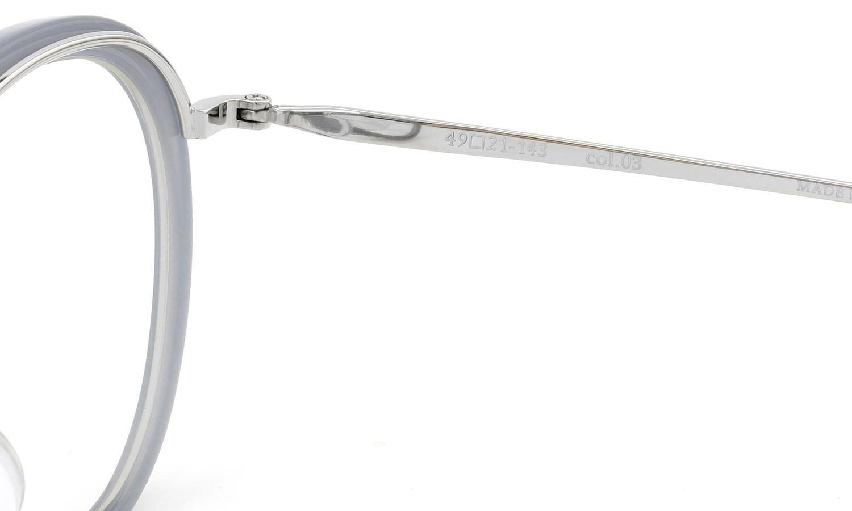 BOSTON CLUB (ボストンクラブ) メガネ 限定生産  ×BE@RBRICK (ベアブリック) コラボレーションボックスセット ALAN col.03 Silver/Grey 11