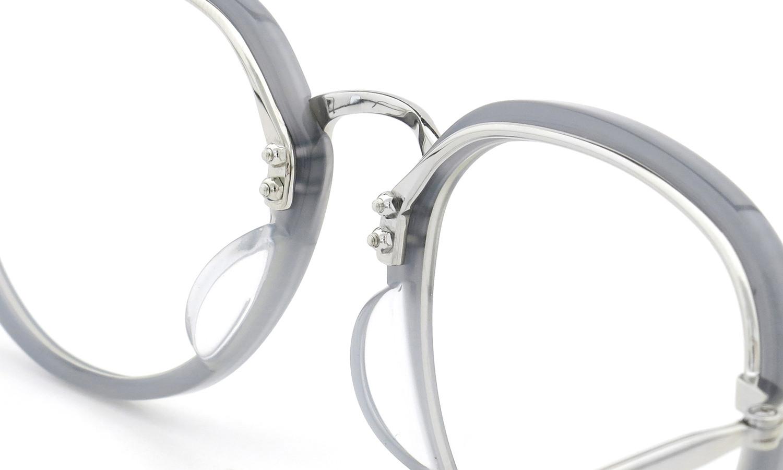BOSTON CLUB (ボストンクラブ) メガネ 限定生産  ×BE@RBRICK (ベアブリック) コラボレーションボックスセット ALAN col.03 Silver/Grey 9