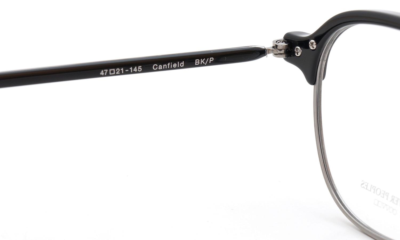 OLIVER PEOPLES(オリバーピープルズ)  2015年春夏 最新メガネ Canfield キャンフィールド BK/P 9