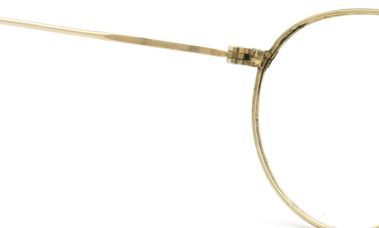 American Optical アメリカン オプティカル vintage ヴィンテージ メガネ 1930年代 PANTO FUL-VUE MARSHWOOD 1/10 12kGF 39-22 9