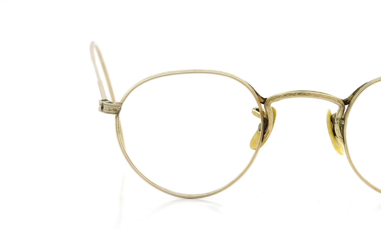 American Optical アメリカン オプティカル vintage ヴィンテージ メガネ 1930年代 PANTO FUL-VUE MARSHWOOD 1/10 12kGF 39-22 13