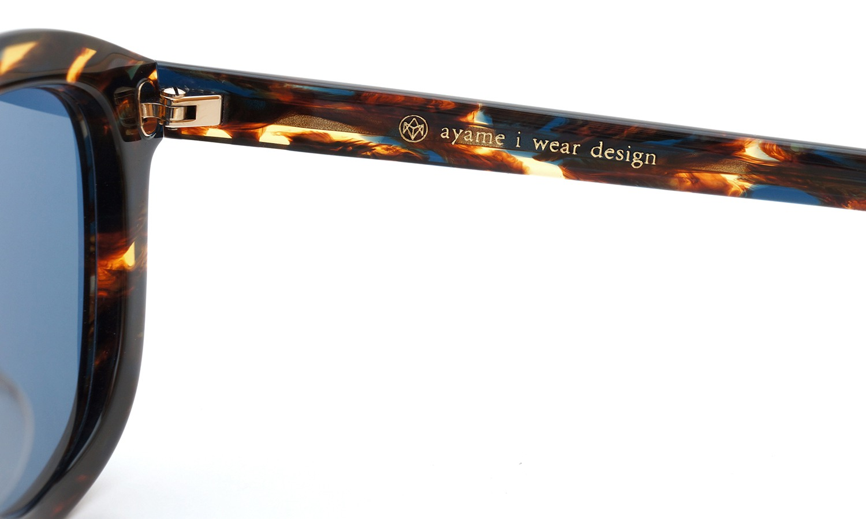 ayame (アヤメ) サングラス KORO コロ NXS(ナクソス) ブルーグレーレンズ 11