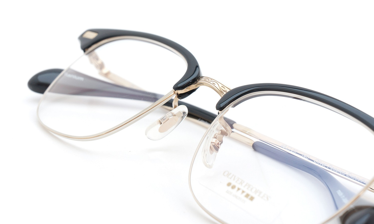 OLIVER PEOPLES オリバーピープルズ THE EXECUTIVE SERIES メガネ EXECUTIVE1 BK/G
