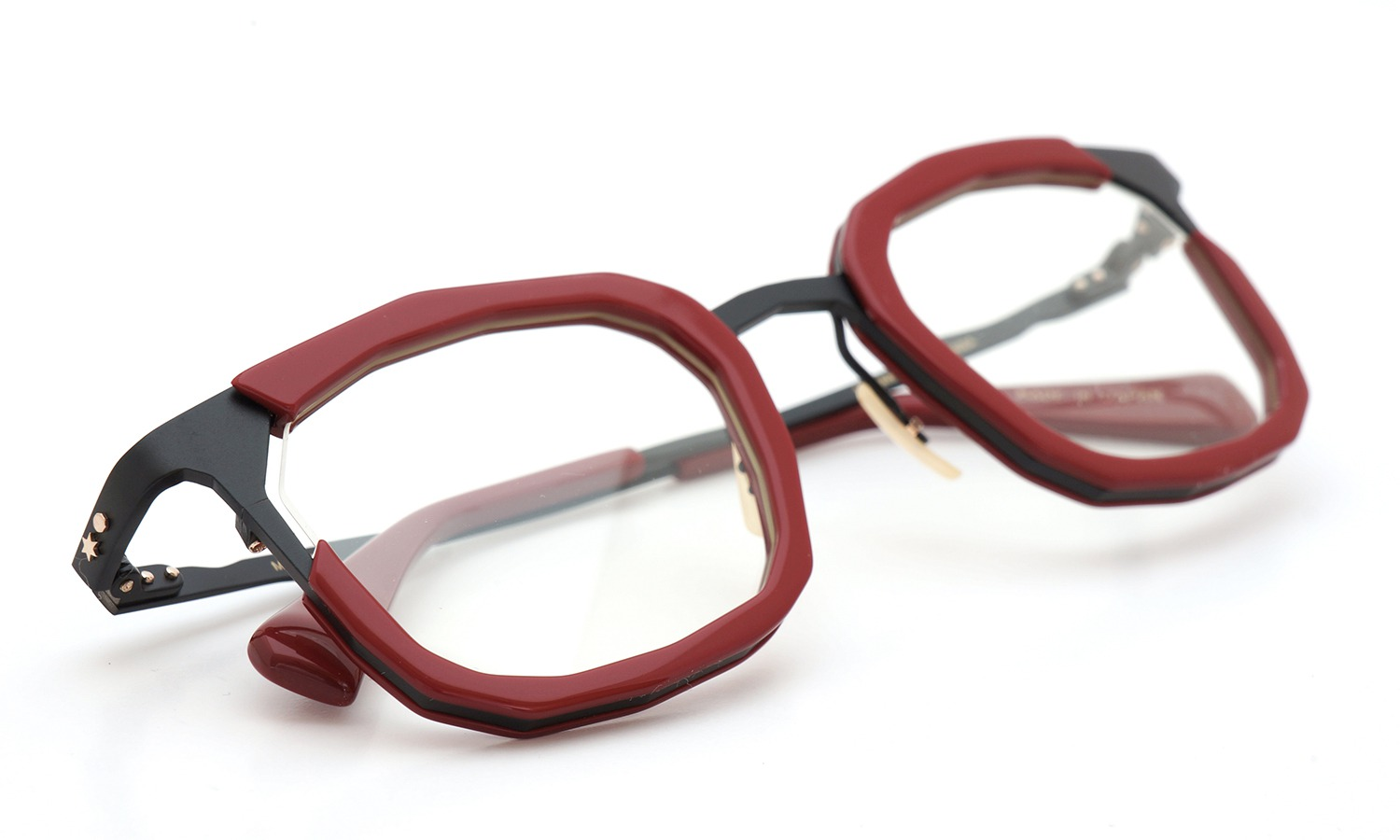 MASAHIROMARUYAMA MM-0023 col.2 RED/BLACK (straight) 12