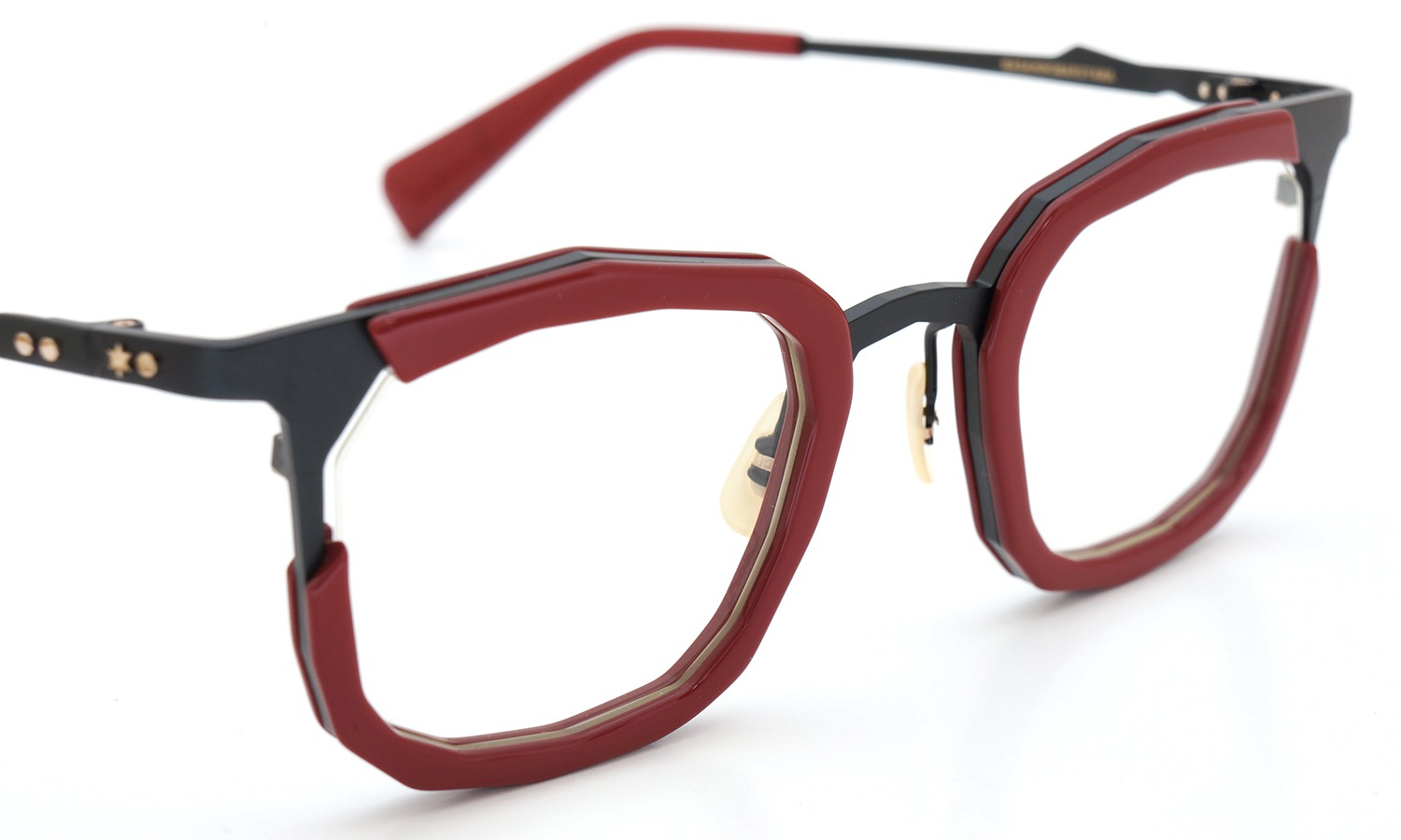 MASAHIROMARUYAMA MM-0023 col.2 RED/BLACK (straight) 6