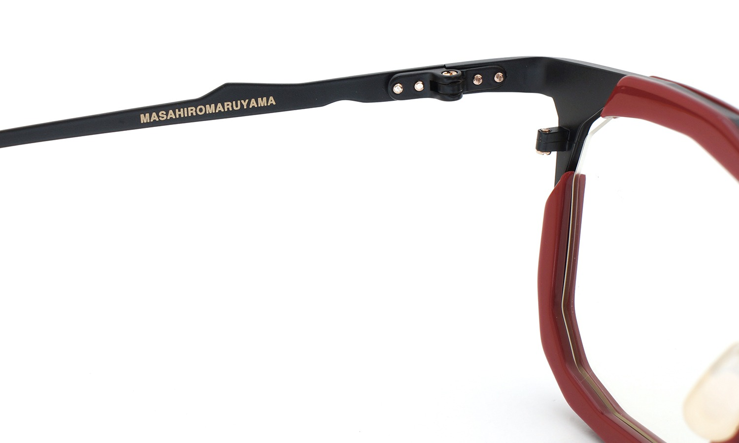 MASAHIROMARUYAMA MM-0023 col.2 RED/BLACK (straight) 9