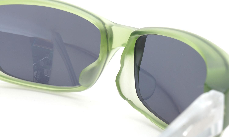 FACTORY900 ×PonMegane 10周年記念オリジナル サングラス F-002 Col.Green-Matte Lense.Gold-Matte-Mirror 7