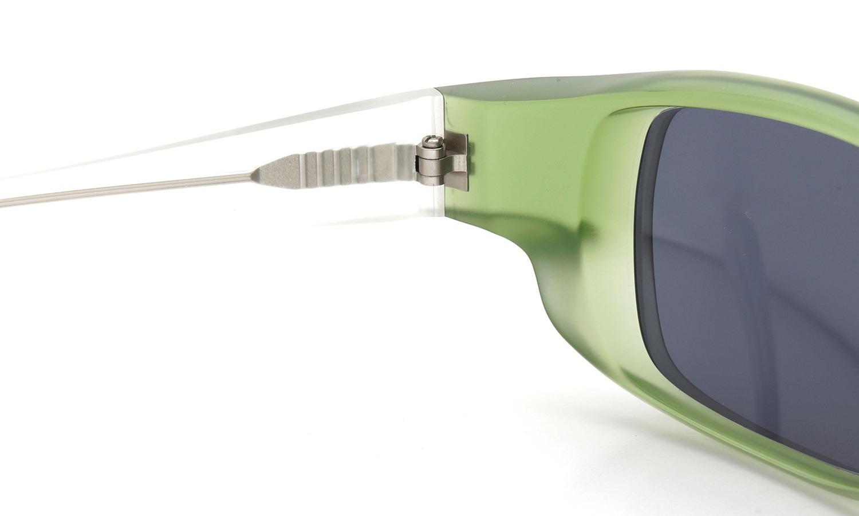 FACTORY900 ×PonMegane 10周年記念オリジナル サングラス F-002 Col.Green-Matte Lense.Gold-Matte-Mirror 8