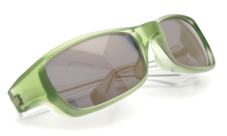 FACTORY900 ×PonMegane 10周年記念オリジナル サングラス F-002 Col.Green-Matte Lense.Gold-Matte-Mirror 9