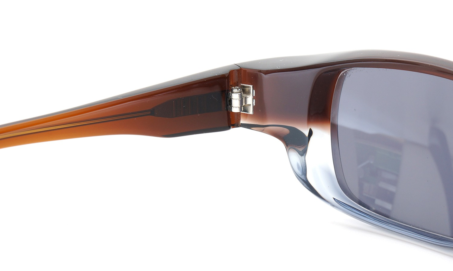 FACTORY900 ×PonMegane 10周年記念オリジナル サングラス F-002 Col.Brown-Clear-Grey Lense.Silver-Matte-Mirror 9