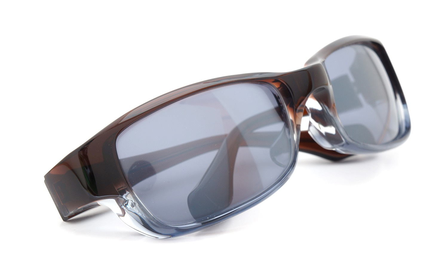 FACTORY900 ×PonMegane 10周年記念オリジナル サングラス F-002 Col.Brown-Clear-Grey Lense.Silver-Matte-Mirror 11