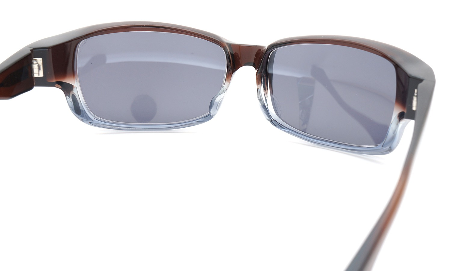 FACTORY900 ×PonMegane 10周年記念オリジナル サングラス F-002 Col.Brown-Clear-Grey Lense.Silver-Matte-Mirror 7