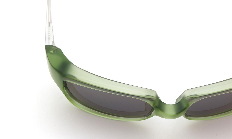 FACTORY900 ×PonMegane 10周年記念オリジナル サングラス F-002 Col.Green-Matte Lense.Gold-Matte-Mirror 13