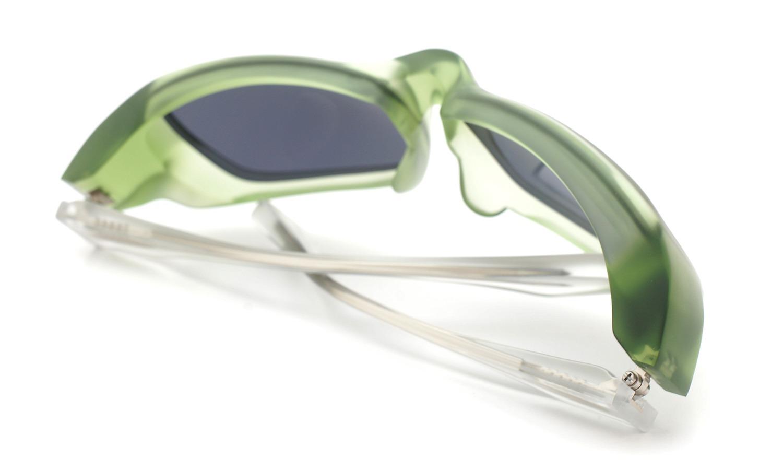 FACTORY900 ×PonMegane 10周年記念オリジナル サングラス F-002 Col.Green-Matte Lense.Gold-Matte-Mirror 11