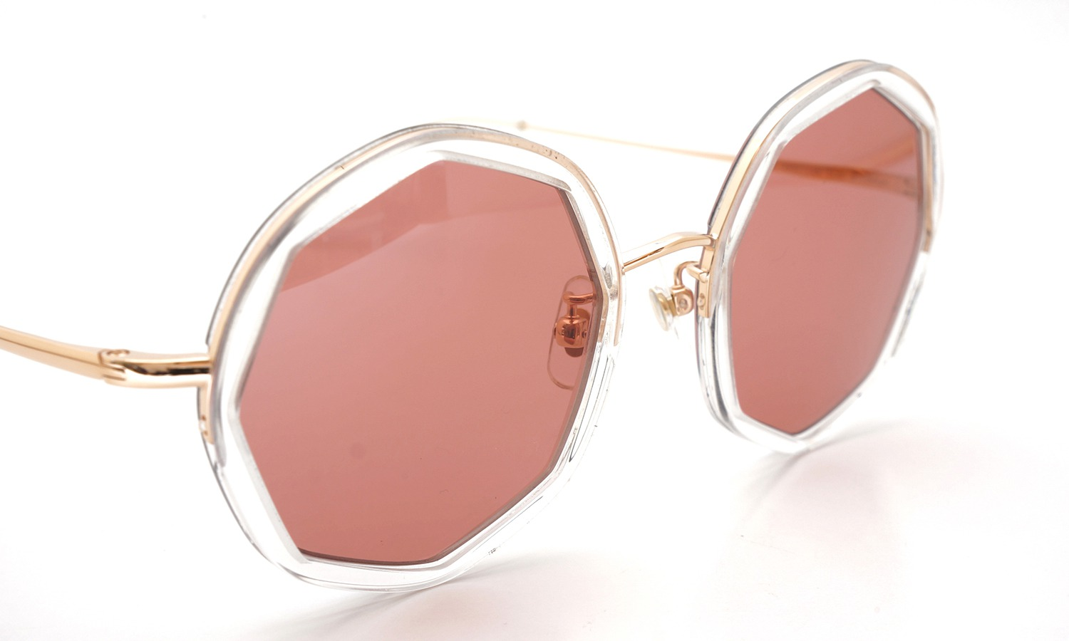 megane and me サングラス ME005 EDIE PG Gold/Clear