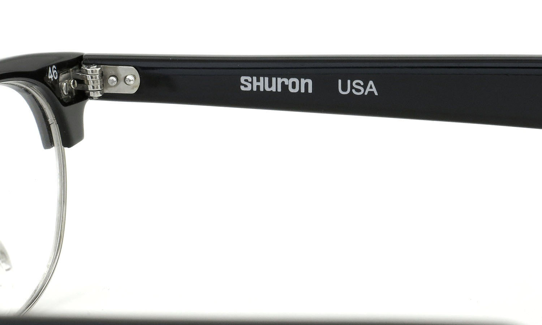 SHURON シュロン メガネ REVELATION レヴェレーション Black/Silver 46-22
