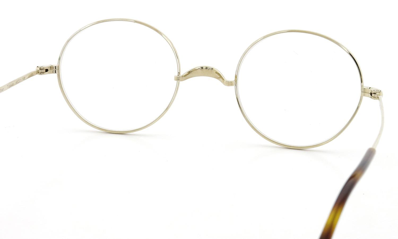 オリバーゴールドスミス メガネ Oliver Oban オーバン Titanium Gold