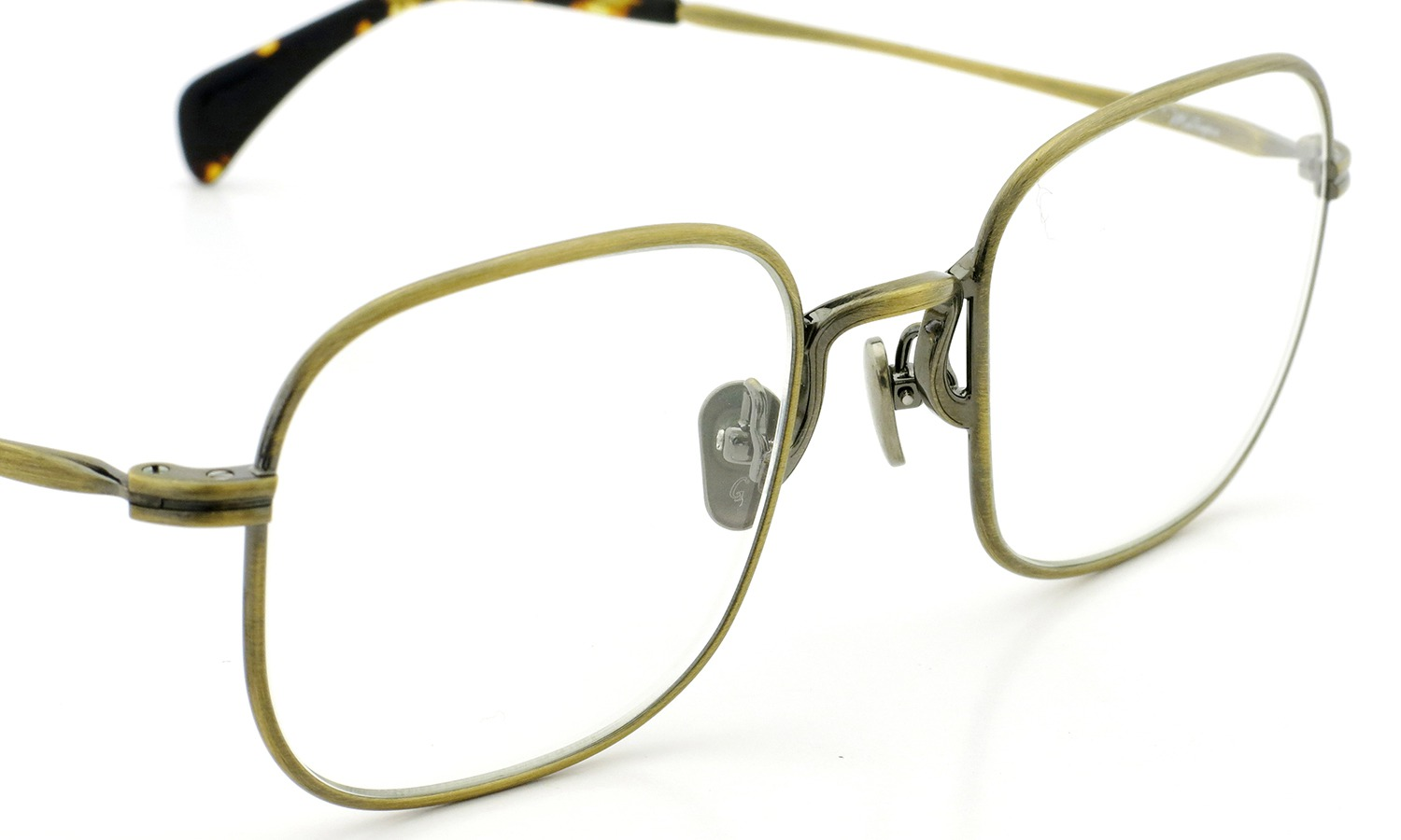 GROOVER メガネ Metropia メトロピア col.3 Antique-Gold