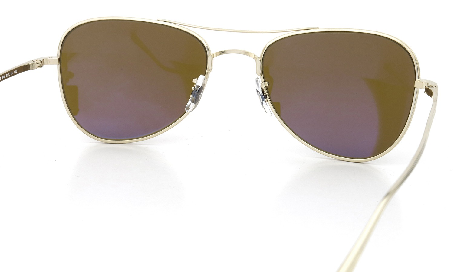 OLIVER PEOPLES × THE ROW サングラス EXECUTIVE SUITE col.BG 53size