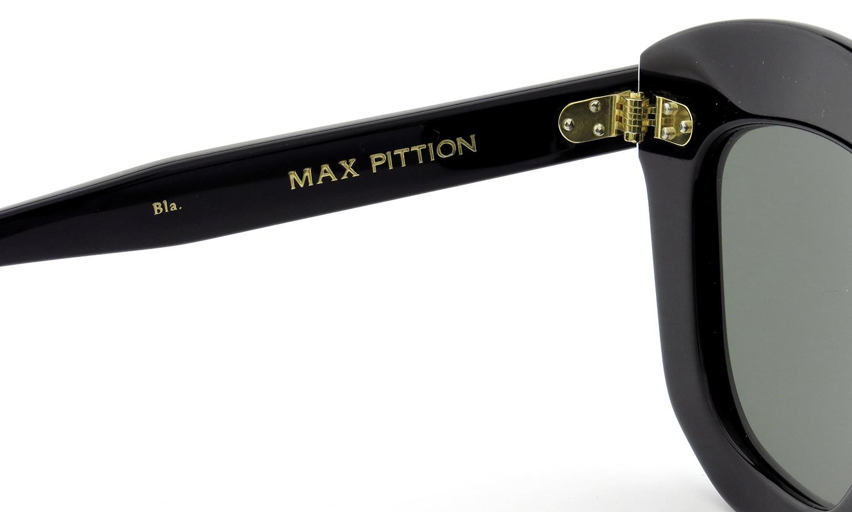 MAX PITTION マックス・ピティオン サングラス Politician ポリティシャン 49size Bla. Lense:G15